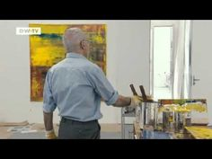 Gerhard Richter Painting: watch the master artist at work - YouTube