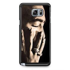 Tupac Poems Thouts Fingers TATUM-11432 Samsung Phonecase Cover Samsung Galaxy Note 2 Note 3 Note 4 Note 5 Note Edge