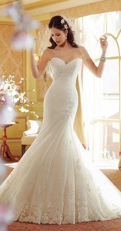 Stunning ~ Sophia Tolli Spring 2014 Bridal Collection | bellethemagazine.com