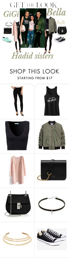 """""""Untitled #170"""" by fatyhnrqz94 ❤ liked on Polyvore featuring Parker Smith, Chicwish, Mulberry, Chloé, Kenneth Jay Lane, Converse, Shellys, GetTheLook and celebritysiblings"""