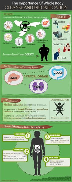 Infographics - Why Detoxify The Human Body?