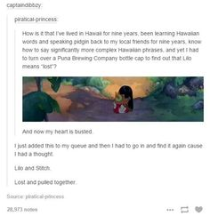 OHMYGOSH. Disney feelings.//♥⚓ i'll let you go~ if you stay ♥ ⚓