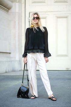 The Paris Way: Fashion Week Street Style #LuceaRow