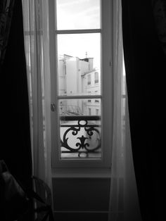 Out my window in Paris