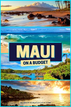 Maui on a Budget: 12 Cheap & Free Things to do in Maui that includes everything from outdoor adventures to free muesum and more! I what to do in Maui I where to go in Maui I places to go in Maui I budget guide to Maui I Hawaii travel I things to do in Hawaii I where to go in Hawaii I places to go in Hawaii I Hawaii on a budget I budget guide to Hawaii I free things to do in Hawaii I what to do in Hawaii I how to travel Hawaii on a budget I budget tips for Hawaii I #Hawaii #Maui Usa Travel Guide, Travel Usa, Budget Travel, Travel Guides, Travel Tips, Travel Advice, Luxury Travel, Summer Travel, Hawaii Travel