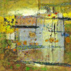 "Amorphous Dimensions | oil on canvas | 32 x 32"" | 2012"