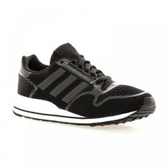 Adidas Originals Adidas Men's ZX 500 Tech Fit Trainers (Black/White) - Adidas Originals from Loofes UK