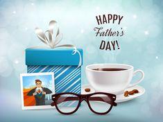 Presente para la composición de papá | Free Vector #Freepik #freevector #abstracto #regalo #familia #hombre Fathers Day Messages, Happy Fathers Day, Daddy Day, Alphabet Stencils, Graphic Design Art, Coffee Cups, Presents, Illustration, Gifts