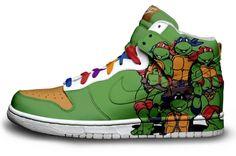 Teanage Mutant Ninja Turtles Sneakers