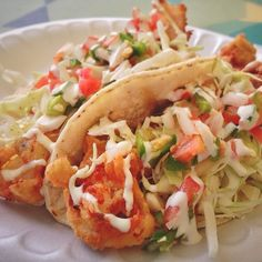 Grab $3 perfectly battered fish tacos at Ricky's Fish Tacos. Pick up a Horchata for a buck and a cool refresher on a hot day.