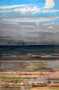 NORMANDY BIG SEESCAPE, H. Craig Hanna, 2010, Encre et Acrylique sur Perspex