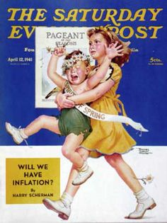 Saturday Evening Post - 1941-04-12: Spring Pageant (Frances Tipton Hunter)