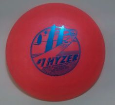 167g Original #1 Hyzer Disc Golf Driver Lightning Radical Overstable Hookshot  #LightningDiscs