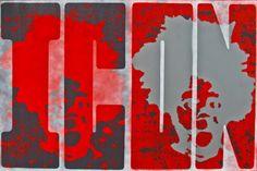 "Saatchi+Online+Artist+Jeff+Rife;+Painting,+""Icon""+#art"