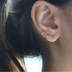 Little Diamond Hoop Earrings Silver Hoop Earrings Set Of 3 Black Stud Earrings, Diamond Hoop Earrings, Crystal Earrings, Diamond Stud, Tiny Earrings, Raw Diamond, Dangle Earrings, Pendant Necklace, Statement Jewelry