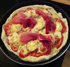 Recette de la pâte à pizza au KitchenAid.