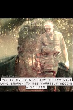 The Walking Dead Merle Dixon edit by @MRS_DARYL_DIXON on Instagram. I love this quote.