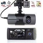 Car 2.7'1080P DVR Camera Video Recorder Dash G-Sensor GPS Dual Len Camera Fast