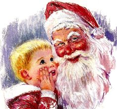 Santa's Lap by Frances Hook