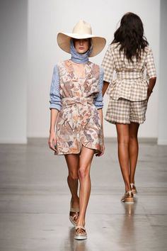 Beau Coops x Karen Walker SS15 Garden People Collection at NYFW.  Available in-stores September 2015. @NMI beaucoops.com #beaucoops