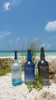 From the beach to the bottle, Blue Chair Bay Rum.