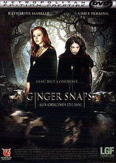 Ginger Snaps Back Horror Icons, Horror Movie Posters, Horror Films, Katharine Isabelle, Foreign Movies, Movie Covers, Creature Feature, Ginger Snaps, Scary Movies