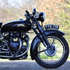 This Vincent Black Shadow is the Clint Eastwood of motorcycles: a badass in 1955, still a badass fifty-seven years later