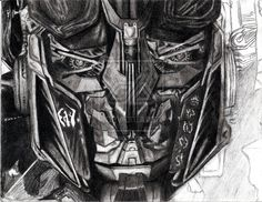 The optimus prime smirk, he saw what you did there.... Love this sketch, amazing…