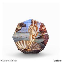 Venus Acrylic Award #Mythological #Mythology #Venus #Painting #Vintage #Art #Acrylic #Award