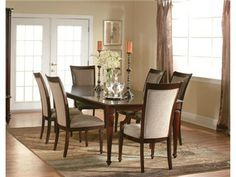 Shop for Lacquer Craft USA Carlyle Dining Set, 866782, and other Dining Room Sets at Furniture Fair in Cincinnati, OH and Northern KY. This 5pc. dining set consists of the table and 4 side chairs. The set is made from Cathedral cut cherry veneers and popular solids.