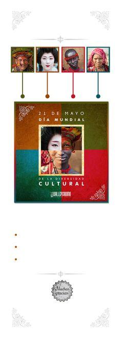 Diversidad Cultural by Waleska Perdomo, via Behance