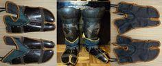 Kogake (armored foot coverings).