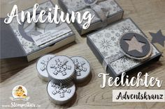 Bildergebnis für adventskranz to go Christmas Diy, Christmas Cards, Aesthetic Rooms, Stamping Up, Mini, Create Yourself, Card Making, Paper Crafts, Gift Wrapping