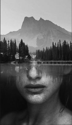 Double Exposure Photography, Dark Photography, Creative Photography, Art Photography Portrait, Photography Projects, Best Portraits, Creative Portraits, Cover Design, Double Exposition