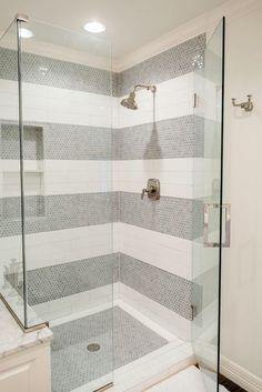 Diese 20 Tile Shower Ideen werden Sie planen Ihre Badezimmer Redo These 20 Tile Shower Ideas will help you plan your bathroom redo Bathroom Shower Tile IdeaThis 20 tile shower ideaThis 20 tile shower idea Bad Inspiration, Bathroom Inspiration, Shower Tile Designs, Shower Tile Patterns, Bathroom Designs, Tile Floor Patterns, Tile Layout Patterns, Subway Tile Patterns, Wallpaper Patterns