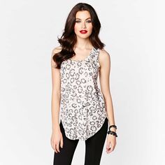 This gorgeous cheetah print cami is spot on trend!