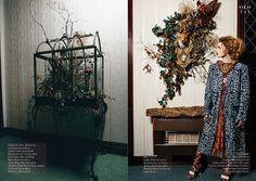 Old Tat magazine AW15 // set designer @yanskates // hair @rose.angus // art director @looloobarbierose // mua @valentinasyed // stylist @kmcneilstylist // model Anna @milkmodelmanagement  maxim_burlakov#fashioneditorial #fashionphotographer #florist #aw15 #fashion #editorial
