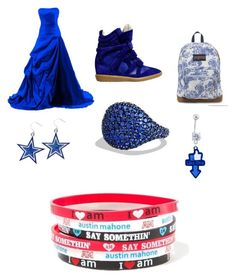 Royals VMA's or MTV Awards Show with Austin Mahone by kassidyrobinson on Polyvore featuring Isabel Marant, JanSport, claire's and David Yurman
