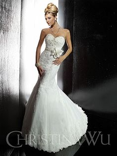 The Christina Wu Wedding Dresses have been a leader in the bridal industry for almost 20 years. Christina Wu offers gorgeous wedding dresses, that feature Ronald Joyce Wedding Dresses, Mini Wedding Dresses, Wedding Dress Sizes, Gorgeous Wedding Dress, Beautiful Bride, Bridal Dresses, Wedding Gowns, Wedding Attire, Bridesmaid Dresses