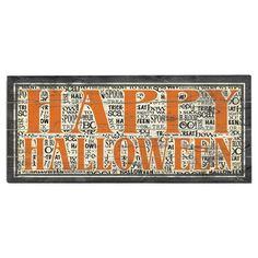 Artehouse LLC Happy Halloween Graphic Art Print Multi-Piece Image on Wood
