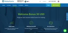 Free welcome bonus of 30 USD from RoboForex FX Broker Fx Broker, Free