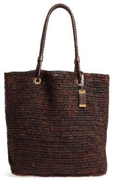 Michael Kors Skorpios Woven Raffia Tote - Bags and Purses 👜 Ethnic Bag, Cheap Bags, Hobo Bag, Purses And Handbags, Leather, Von Furstenberg, Diane Von, Bucket Bag, Hand Bags