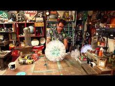 Como fazer luminária com copos descartáveis!!! - YouTube