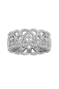 De Beers Enchanted Lotus band - KS Chabot, why do I imagine this is really the ring you want???