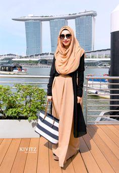 Fitri Aulia ♥ Muslimah fashion & hijab style