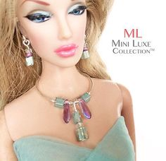 Doll Jewelry Fashion Royalty, Barbie, Poppy Parker by  Mini Luxe Collection | eBay