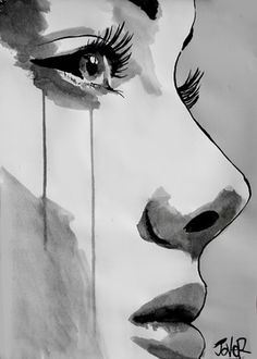 "Saatchi Online Artist: Loui Jover; Pen and Ink 2012 Drawing ""awakening""❤️"