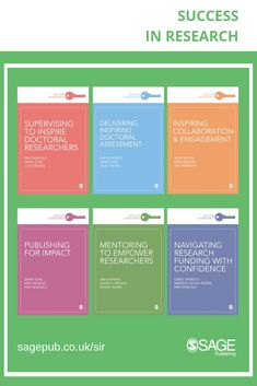 Coming soon, the new titles in the Success in Research series provide short, authoritative and accessible guides on key areas of professional and research development. Dissertation Motivation, Research And Development, Assessment, Collaboration, Confidence, Success, Key, Unique Key, Business Valuation