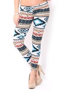 Spring #Aztec Leggings