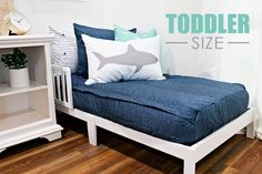 A toddler Beddy's will help your littles love their very first experience with a big girl or big boy bed. Beddy's will keep them tucked in nice, snug and comfy as they drift off to dreamland. Toddler Comforter, Toddler Bed, Beddys Bedding, Zipper Bedding, Point Break, Make Your Bed, Blue Bedding, Kid Beds, Bedroom Decor